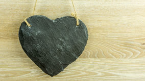 A heart of slate Royalty Free Stock Photography