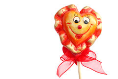 Heart with the smile Royalty Free Stock Images