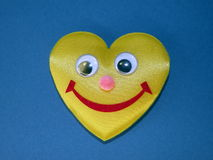 Heart with smile Stock Image