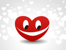 Heart smile icon Stock Photography