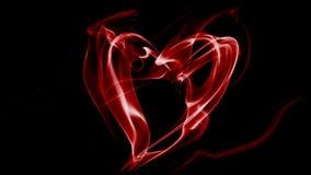 Heart smoke Royalty Free Stock Image