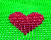 heart spheres иллюстрация штока