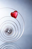Heart In Spiral Royalty Free Stock Image