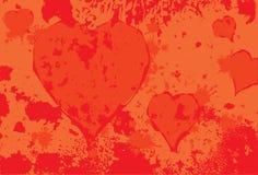 Heart spot Stock Image
