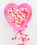 Heart Sprinkles Royalty Free Stock Images