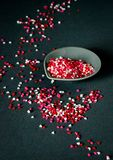 Heart sprinkles Stock Photography