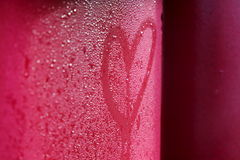 Heart. St. Valentine´s heart as background Royalty Free Stock Images