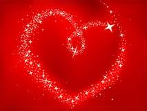 Heart of stars Stock Photo
