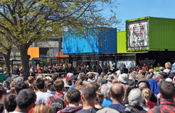 Heart Start Opening Ceremony in Christchurch New Zealand. stock image