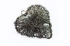 heart steel wire 库存图片