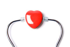 Heart & Stethoscope Stock Images
