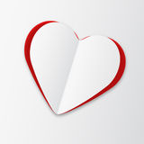 Heart sticker Stock Photography