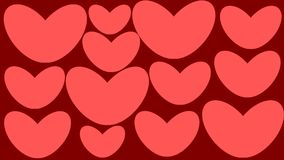 Free Heart Stickers Royalty Free Stock Image - 102936476