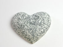 Heart of stone. Close up of a heart of stone Stock Photos
