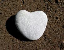 Heart of stone. Stone heart Royalty Free Stock Photo
