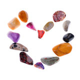 Heart stone Stock Images