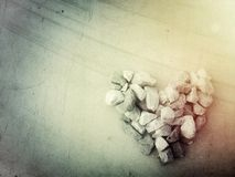 Heart stone Royalty Free Stock Images
