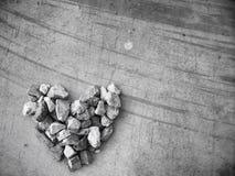 Heart stone Royalty Free Stock Photos