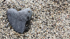 Heart of stone Royalty Free Stock Photography
