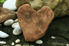 Heart of stone Royalty Free Stock Image