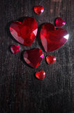 Heart Stones Stock Photos