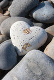 Heart Among Stones Royalty Free Stock Photo