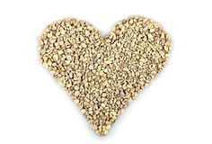 Heart from stones Royalty Free Stock Photography