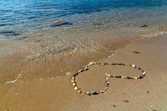 Heart of stones Stock Photography