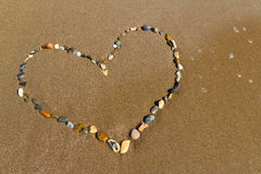 Heart of stones Royalty Free Stock Images