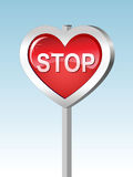 Heart-stop Royalty Free Stock Image