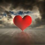 Heart storm. Stock Photo