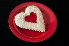 Heart Sugar Cookie Stock Photo
