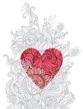 Heart summer. Stock Image