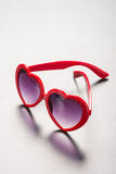 Heart Sunglasses Stock Photography