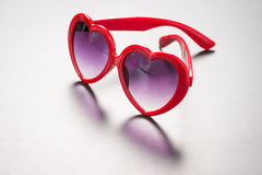 Heart Sunglasses Stock Photo