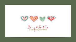 Heart sweet love  valentine day Royalty Free Stock Image
