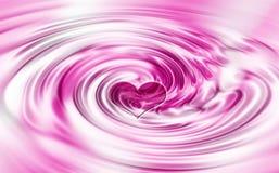 Heart swirl stock images