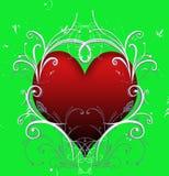 Heart swirls Stock Photography