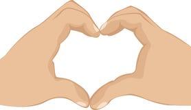 Heart symbol Royalty Free Stock Photography