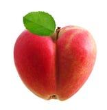 Heart symbol apple Royalty Free Stock Photography
