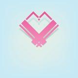 Heart symbol design Stock Image