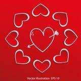 Heart - symbol of love Stock Photo
