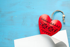 Heart symbol of love. Stock Photography