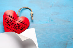 Heart symbol of love. Royalty Free Stock Images