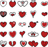 Heart symbol series 2 Royalty Free Stock Photography