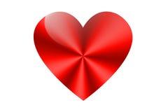 Heart. Symbol on white background - the day of St. Valentine Vector Illustration