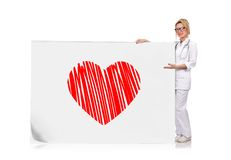 Heart symbol Royalty Free Stock Photos