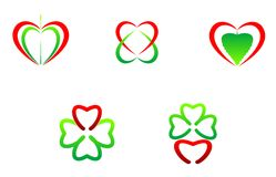 Heart symbols Stock Photo