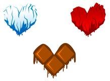 Heart symbols Stock Photo