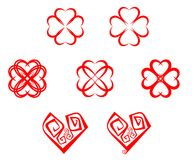 Heart symbols Stock Images